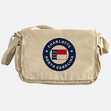 Charlotte North Carolina Messenger Bag