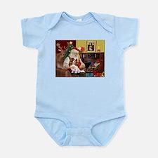 Santa's Cavalier (BL) Infant Bodysuit