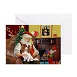 Cavalier king charles christmas Greeting Cards