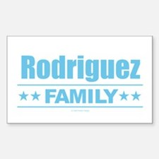 Rodriguez Family Decal