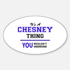 CHESNEY thing, you wouldn't understand! Decal