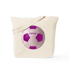 Larissa soccer ball Tote Bag