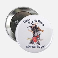 CMrl Center Of Attention Great Dane Button