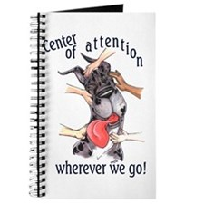 CMrl Center Of Attention Great Dane Notepad
