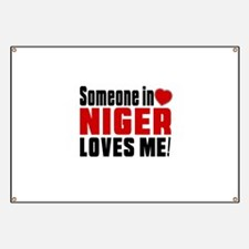 Someone In Niger Loves Me Banner