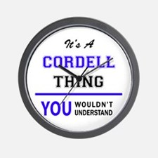 CORDELL thing, you wouldn't understand! Wall Clock