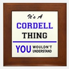CORDELL thing, you wouldn't understand Framed Tile