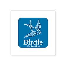 Birdie for President Sticker