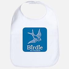 Birdie for President Bib