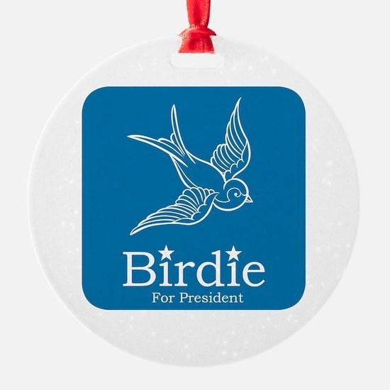 Birdie for President Ornament