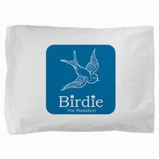Birdie for President Pillow Sham