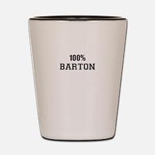 100% BARTON Shot Glass