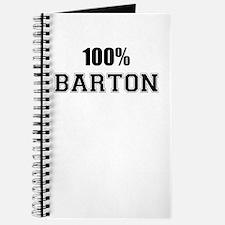 100% BARTON Journal