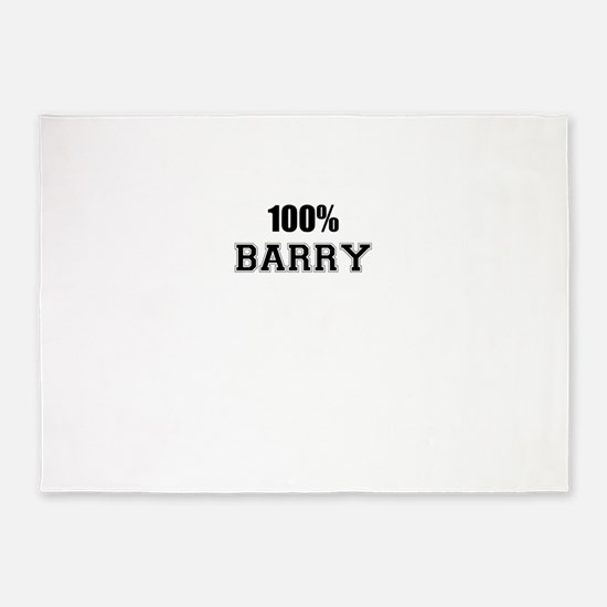 100% BARRY 5'x7'Area Rug