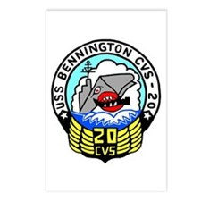 USS Bennington (CVS 20) Postcards (Package of 8)