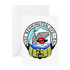 USS Bennington (CVS 20) Greeting Card