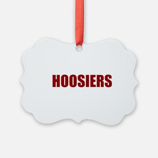 Hoosier Ornament
