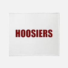 Hoosier Throw Blanket