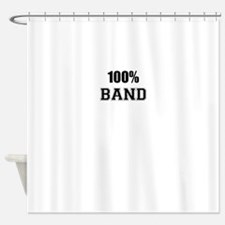 100% BAND Shower Curtain