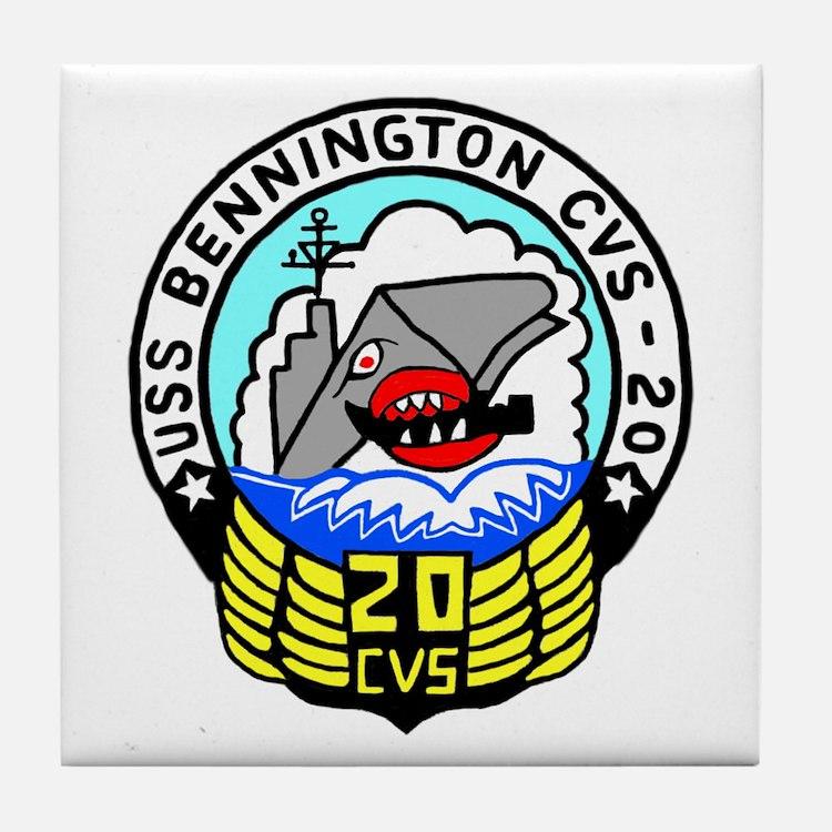 USS Bennington (CVS 20) Tile Coaster