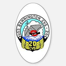 USS Bennington (CVS 20) Oval Decal