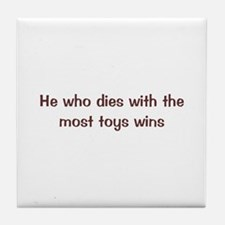 Most Toys Tile Coaster