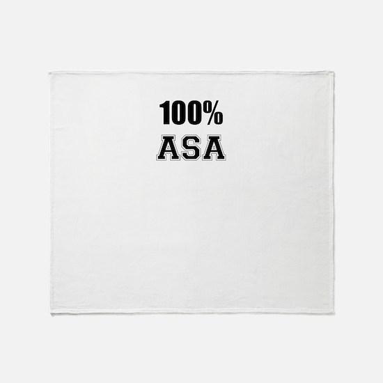 100% ASA Throw Blanket
