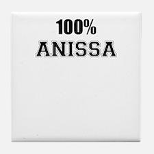 100% ANISSA Tile Coaster