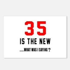 35 Is The New What Was I Postcards (Package of 8)