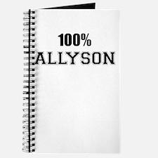 100% ALLYSON Journal