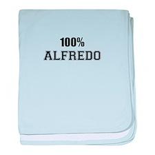 100% ALFREDO baby blanket