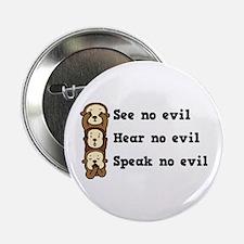 See Hear Speak No Evil Button