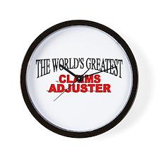 """The World's Greatest Steel Worker"" Wall Clock"