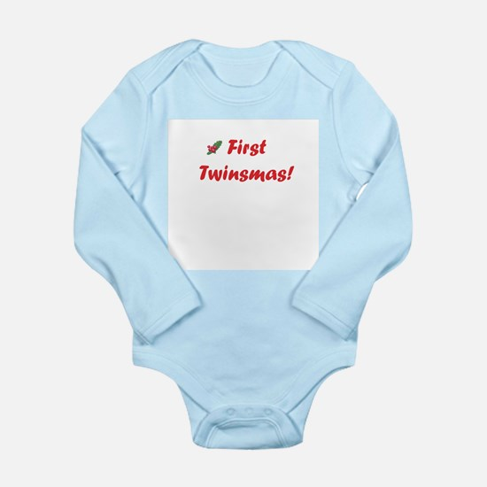 First twinsmas Infant Bodysuit Body Suit