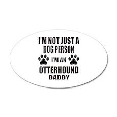 I'm an Otterhound Daddy Wall Decal