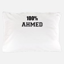 100% AHMED Pillow Case