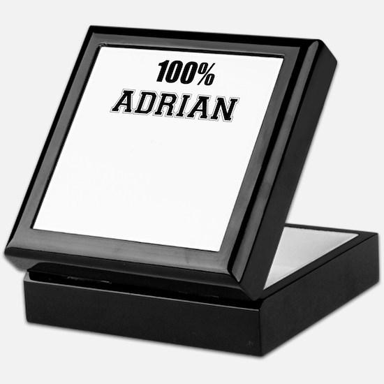 100% ADRIAN Keepsake Box