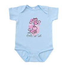 Ooh La La Poodle Infant Bodysuit