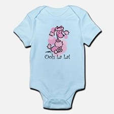 Ooh La La Poodle Infant Bodysuit