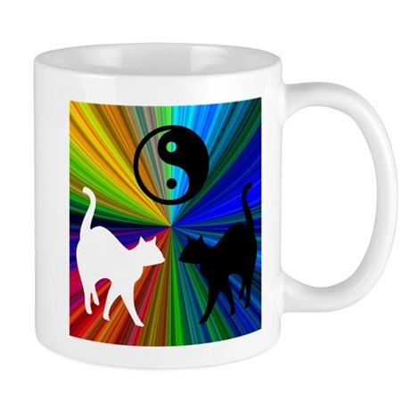 RAINBOW CATS RIGHT-HANDED Mug