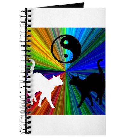 YIN-YANG RAINBOW CATS Journal
