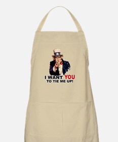 Want You to Tie Me Up BBQ Apron