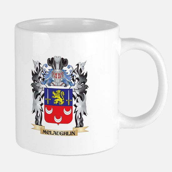 Mclaughlin Coat of Arms - Family Crest Mugs