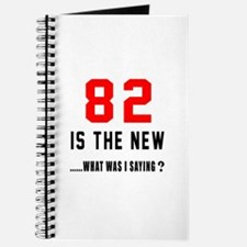 82 Is The New What Was I Saying ? Journal