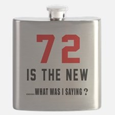72 Is The New What Was I Saying ? Flask