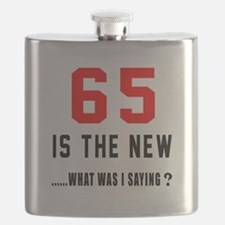 65 Is The New What Was I Saying ? Flask