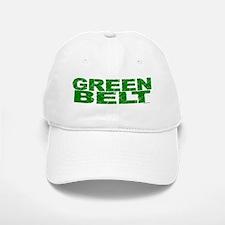 GREEN BELT 1 Baseball Baseball Cap