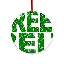 GREEN BELT 1 Ornament (Round)