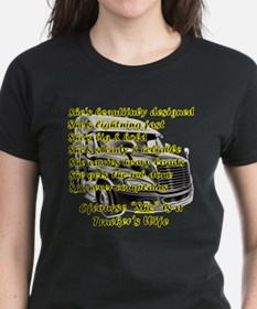 Truckers Wife She Design T-Shirt