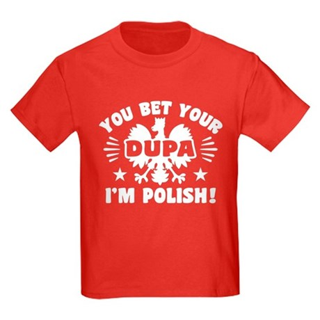 Funny polish dupa kids dark t shirt funny polish dupa t for Polish t shirts online
